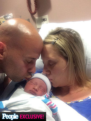 Tony Vlachos Welcomes Son Constantine Anthony