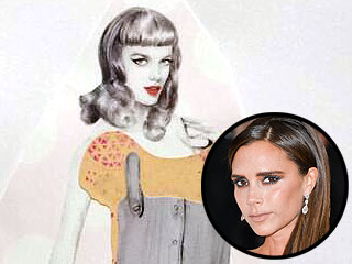 So Cute! Victoria Beckham Shares Pic of Daughter's Fashion Collage | Victoria Beckham