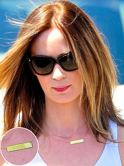 Emily Blunt Hazel Necklace