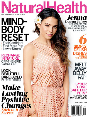 Jenna Dewan-Tatum Natural Health magazine
