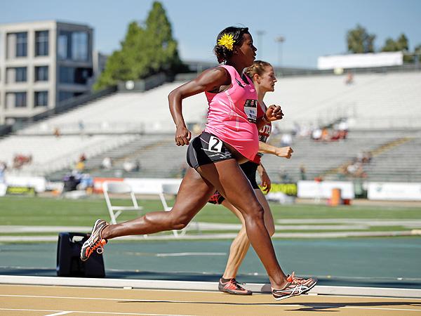 Alysia Montano Pregnant 800 Meter Race