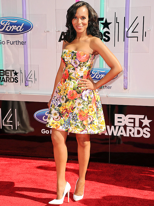 Kerry Washington BET Awards Red Carpet Post-Baby Body