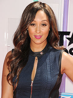 Tamera Mowry-Housley on Son Aden