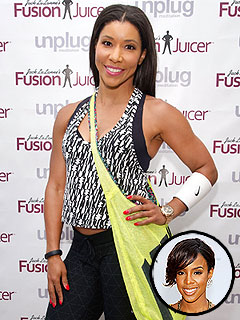 Jeanette Jenkins Kelly Rowland pregnancy workout
