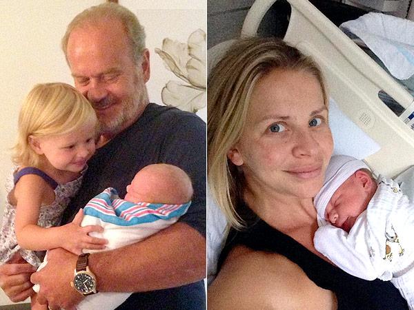 Kelsey Grammer Welcomes Son Kelsey Gabriel Elias