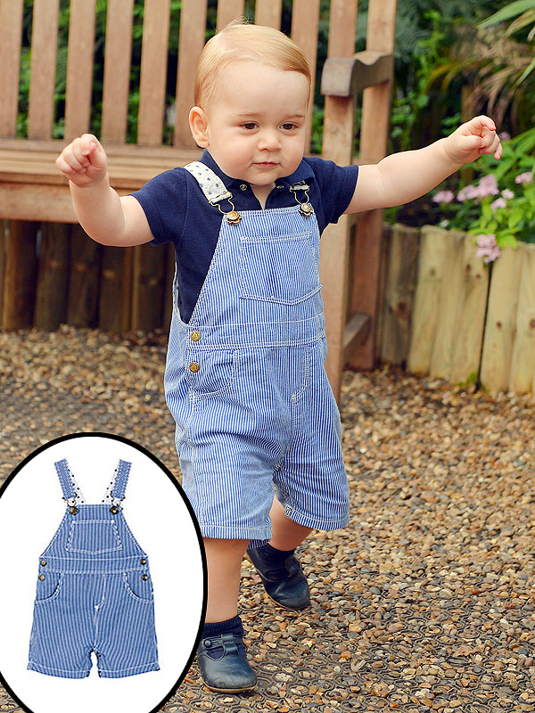 All The Details On Prince George S Adorable Overalls Moms Babies