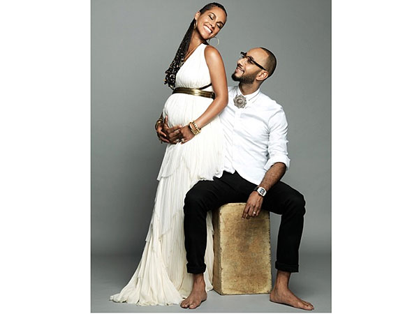 Alicia Keys Pregnant Expecting Second Child Swizz Beatz