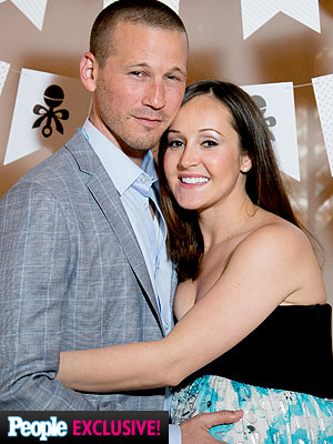 J.P. Rosenbaum Ashley Hebert Welcome Son Fordham Rhys