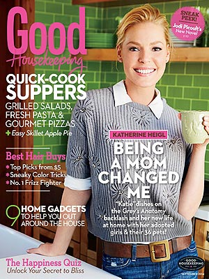 Katherine Heigl Good Housekeeping daughters Naleigh Adalaide