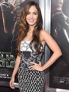 Megan Fox Teenage Mutant Ninja Turtles screening