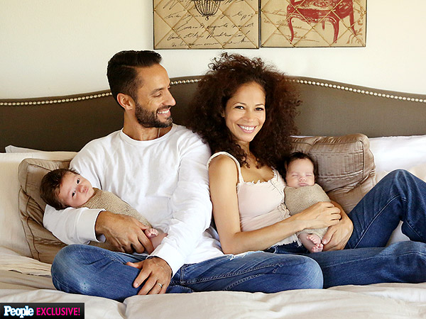 Sherri Saum Introduces Twins First Photos
