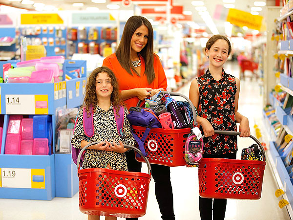 Soleil Moon Frye Daughters Target Back to School