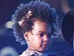 Golden Girl! All the Details on Blue Ivy's Adorable VMAs Dress | Beyonce Knowles, Blue Ivy Carter, Jay-Z