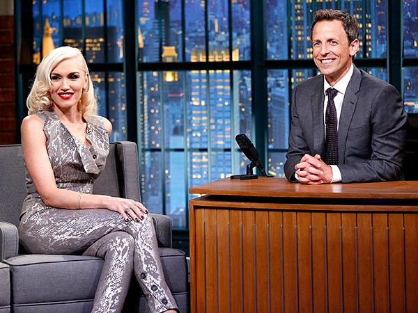 Gwen Stefani Late Night with Seth Meyers