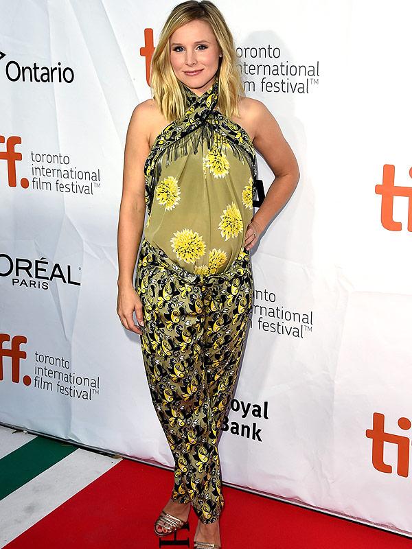 Kristen Bell Toronto Film Festival The Judge premiere