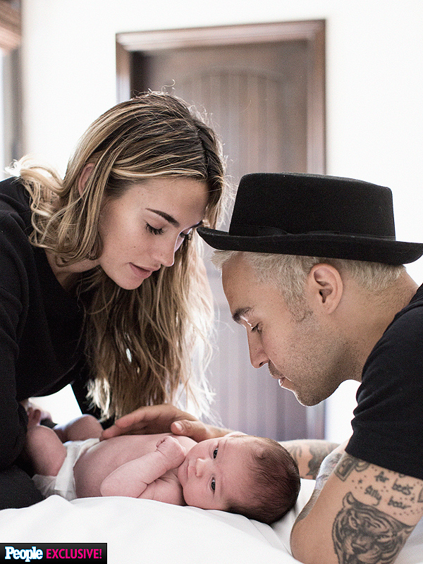 Pete Wentz Introduces Son Saint Lazslo