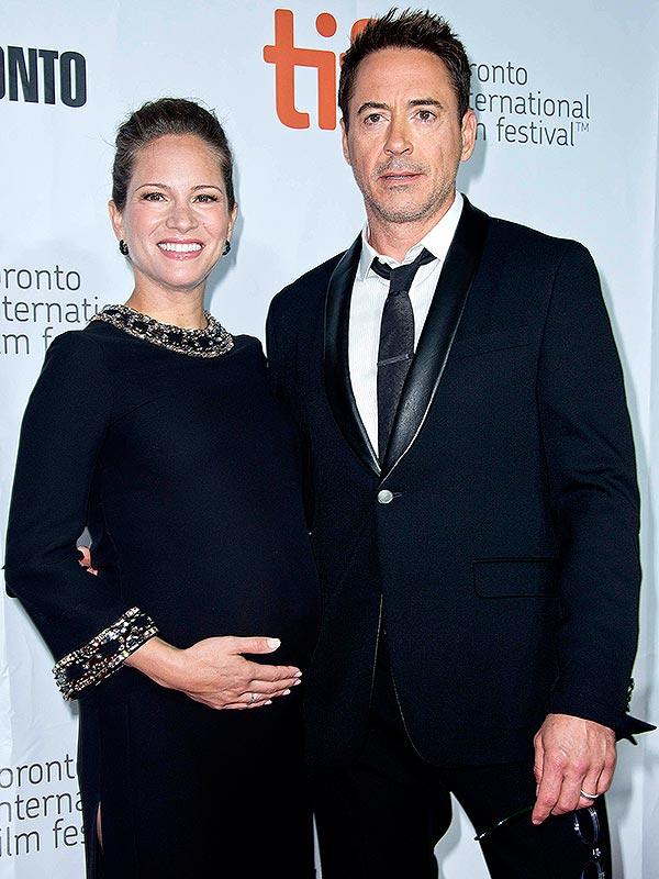 Robert Downey Jr Wife Pregnant The Judge Toronto Film Festival