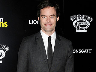 Bill Hader Jokes It's His 'Lot in Life' to Be Surrounded by Women | Bill Hader