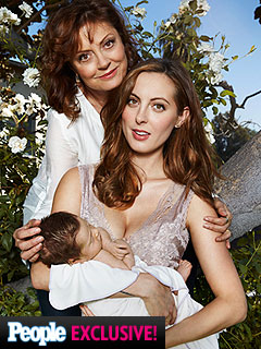 Eva Amurri Martino breastfeeding daughter Marlowe