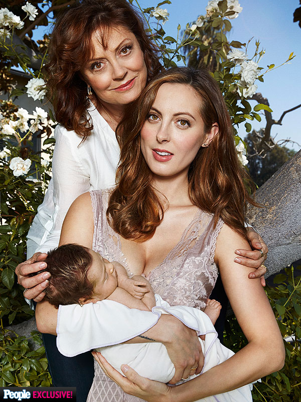 Susan Sarandon Eva Amurri Martino Daughter Marlowe Mae First Photo