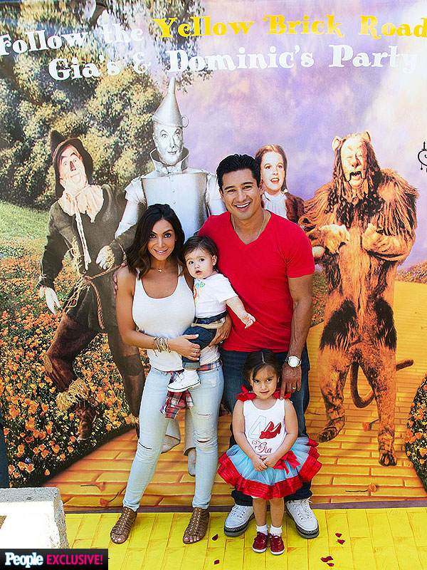 Mario Lopez Kids Birthday Party