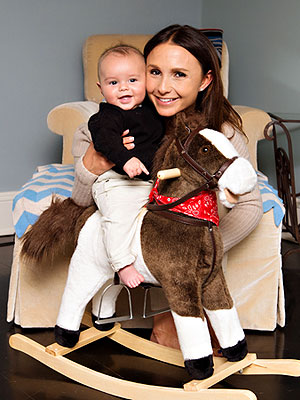Georgina Bloomberg and Jasper