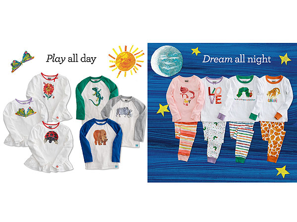 Gymboree Eric Carle Collection