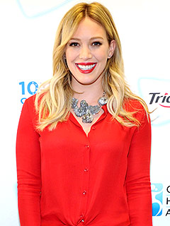Hilary Duff Trident and Oral Smiles Across America
