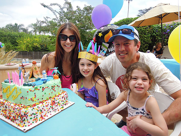Samantha Harris Josselyn birthday party