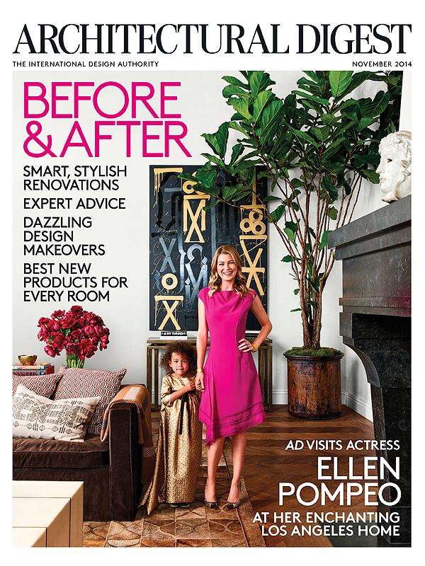 Ellen Pompeo Architectural Digest