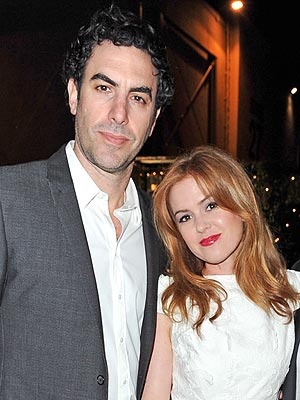 Isla Fisher Sacha Baron Cohen Welcome Third Child