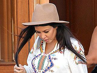 Sisterly Love! Kourtney Kardashian Borrows Kylie Jenner's Mini Dress   Kourtney Kardashian