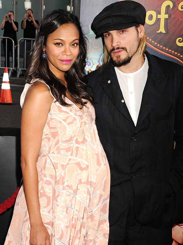 Zoe Saldana Pregnant Twin Boys