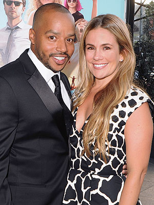 Donald Faison CaCee Cobb expecting daughter