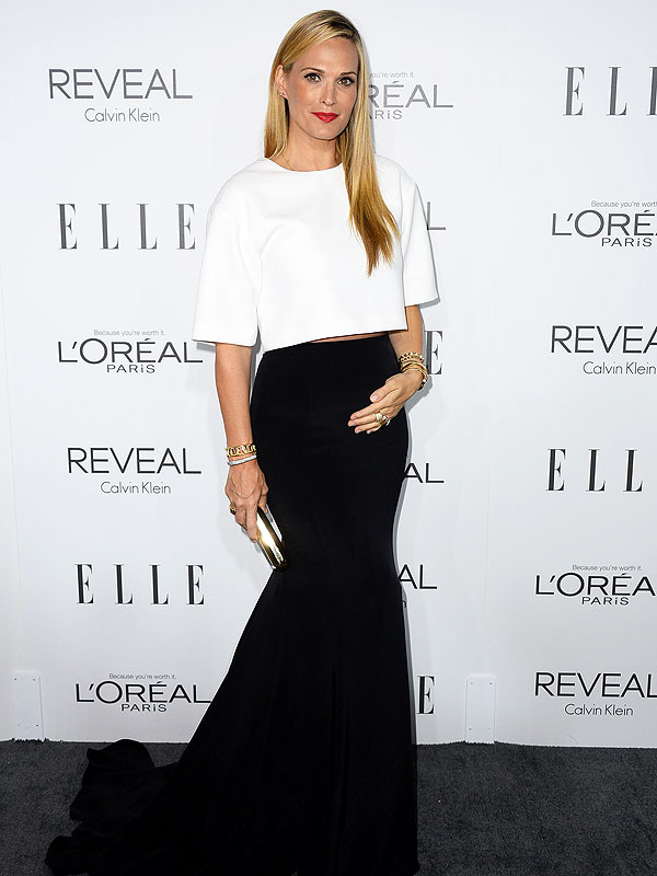Molly Sims Pregnant Elle Women in Hollywood