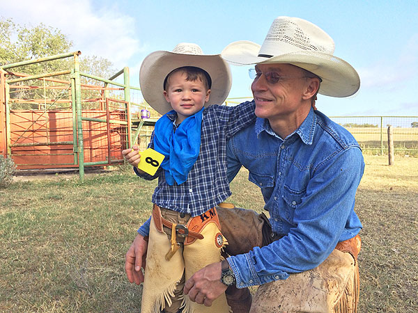 Kase and Ty Murray