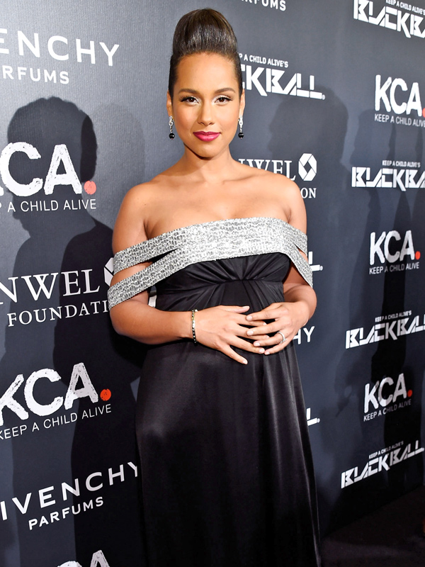 Alicia Keys Keep a Child Alive Black Ball