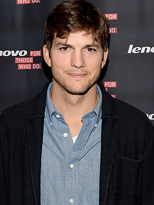 Ashton Kutcher Conan O'Brien