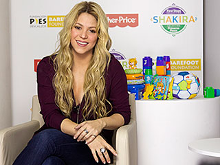 So Cute! Shakira Launches Baby Toys Collection