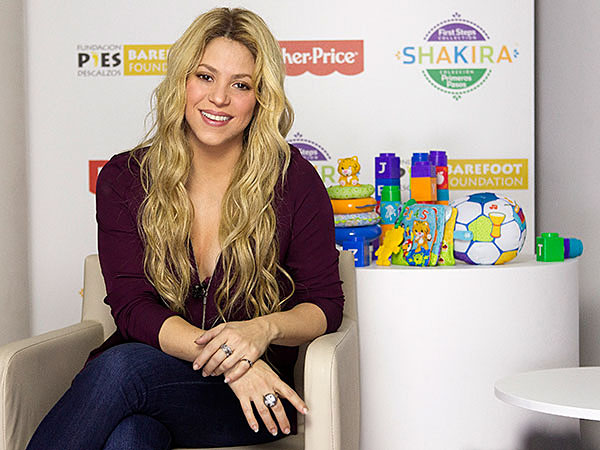 Singer Shakira Teams Up With Fisher-Price for New Developmental Toy Collections