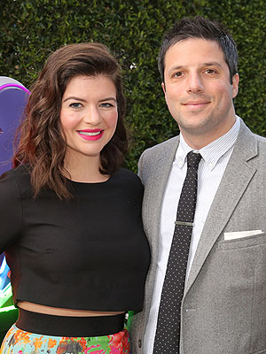 Casey Wilson Welcomes Son David Caspe