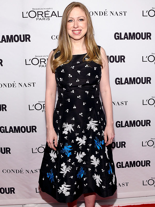 Chelsea Clinton Glamour Woman of the Year awards