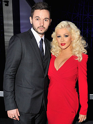 Christina Aguilera Matt Rutler breakthrough awards