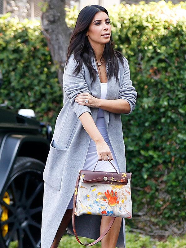 Kim Kardashian North Hermes handbag