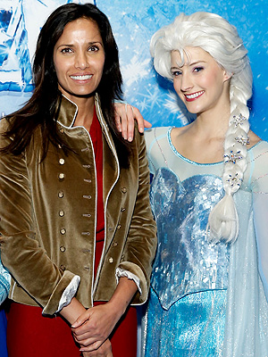 Padma Lakshmi Frozen Disney on Ice