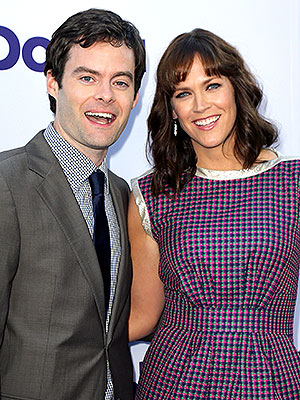 Bill Hader Maggie Carey Welcome Daughter Hayley