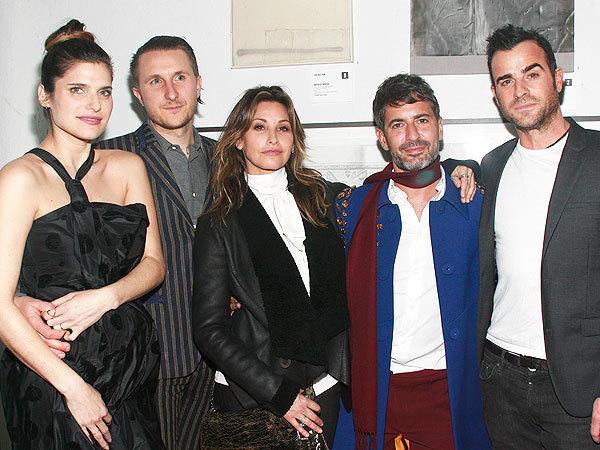Lake Bell Pregnant Scott Campbell Free Arts NYC Annual Art Auction