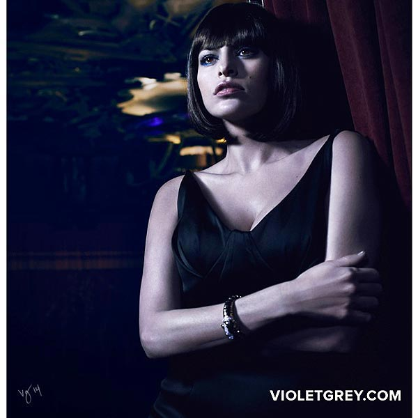 Eva Mendes Violet Grey