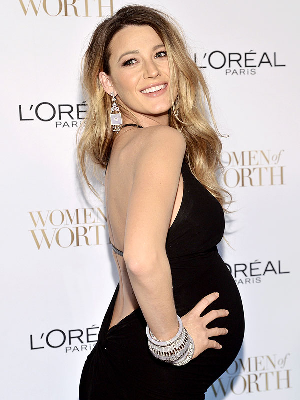 Blake Lively L'Oreal Paris Women of Worth Awards