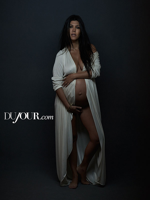 Kourtney Kardashian Nude DuJour